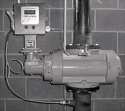 Romet RM Series Rotary Gas Meter DCIS with PT Corrector